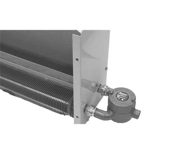 ICG Series convector heaters are designed to heat areas classified as hazardous locations designated for Class I, Groups B, C & D, Division 1 and 2 environments. Typical applications involve petroleum refineries and gasoline storage and dispensing areas, industrial firms that use flammable liquids in dip tanks for parts cleaning, petrochemical companies manufacturing chemicals, dry cleaning plants, utility and natural gas plants, aircraft hangers, fueling areas and many other hazardous areas covered by these classifications.