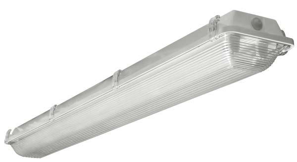 Fluorescent vaportite vp series lighting lights light fixtures wet location industrial listed with ip67 rating parking
